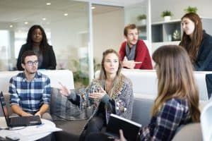 Träffa banken för att lösa er företagsfinansiering